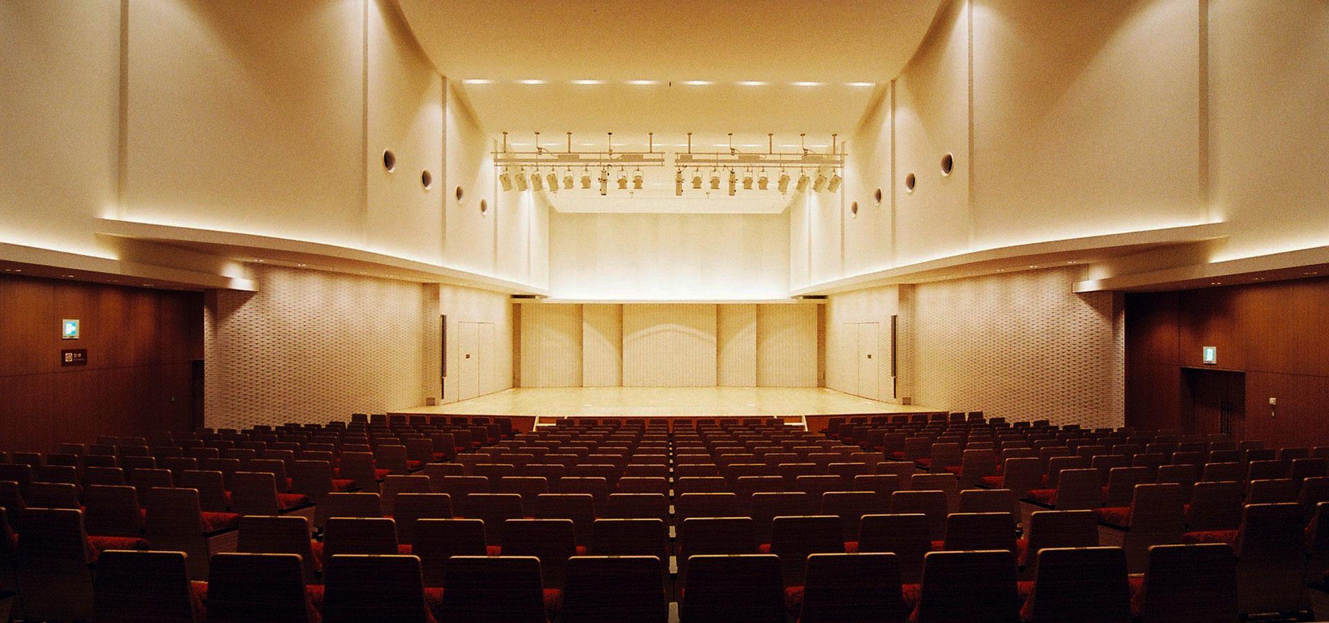 いわき市文化センター大ホール改修工事