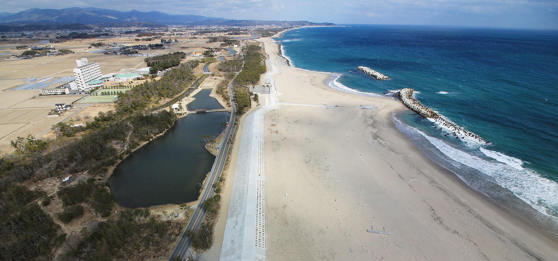 公共災害復旧海岸工事