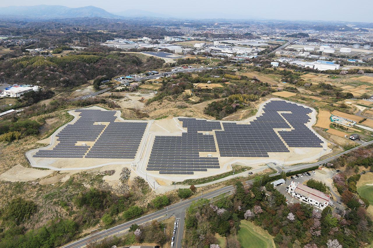 業務用太陽光発電施設造成工事